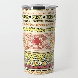 Pizza Pattern Travel Mug