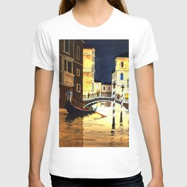 Evening In Venice Italy T-shirt