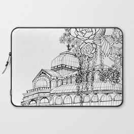 Conservatory of succulent - Black Laptop Sleeve
