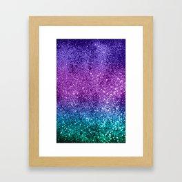 Unicorn Girls Glitter #10 #shiny #decor #art #society6 Framed Art Print