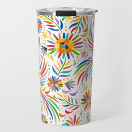 The colors of the Quetzal Travel Mug
