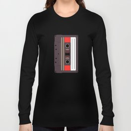 Compact Cassette Long Sleeve T-shirt