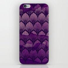 Variations on a Feather II - Purple Haze  iPhone & iPod Skin