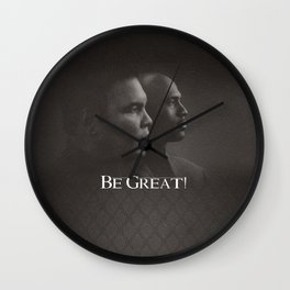 Be Great Wall Clock