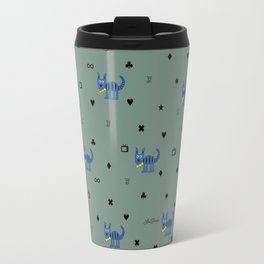 Bob The Cat All Over The Place Travel Mug