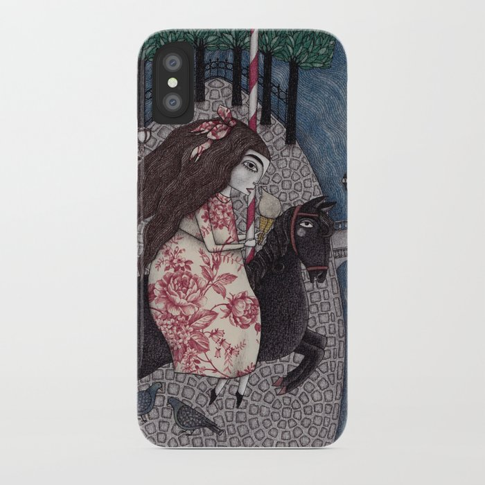 My Summer Days iPhone Case