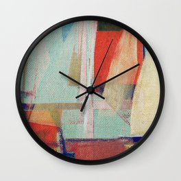 Stilt House 2 Wall Clock