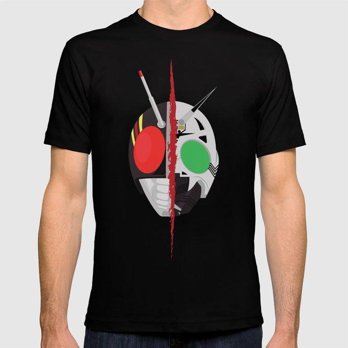 Kamen Rider BLACK T-shirt by itamarschuindt