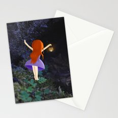 what's in the dark? Stationery Cards