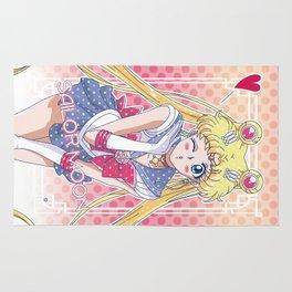 Sailor Moon Crystal Dots Version Rug