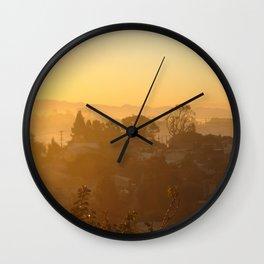 Golden Dawn Wall Clock