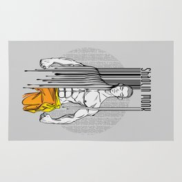 shaolin monk Rug