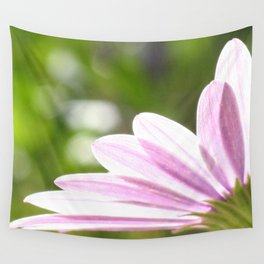 Pink African Daisy in the Light Wall Tapestry
