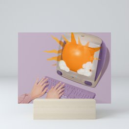 Sun Screen Mini Art Print