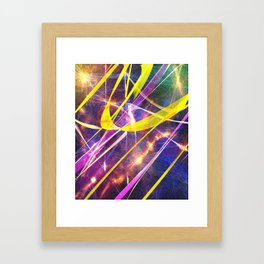 Spacetime Framed Art Print