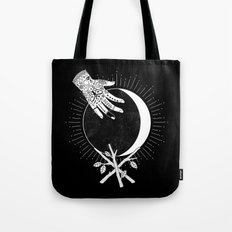 Waxing Crescent Tote Bag
