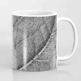 Abstract details of a big tree leaf II Coffee Mug