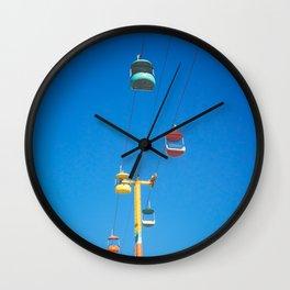 Santa Cruz Boardwalk Wall Clock