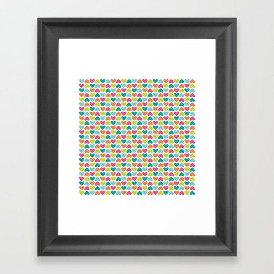 Heart Attack Framed Art Print