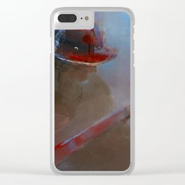 """""""Guitar Player"""" by Diana Grigoryeva Clear iPhone Case"""