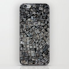 Letters, Letters, Letters iPhone & iPod Skin