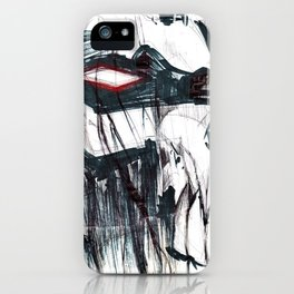 Futuristic Cyborg 3 iPhone Case