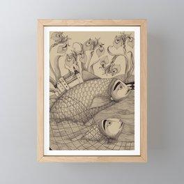 The Golden Fish (1) Framed Mini Art Print