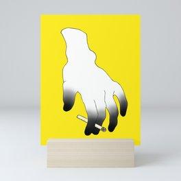 The Killer In Your Hand Mini Art Print