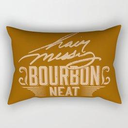 Hair Messy Bourbon Neat Rectangular Pillow
