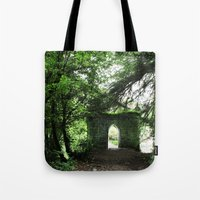 ruben ireland Tote Bags featuring Ireland by ericasterling