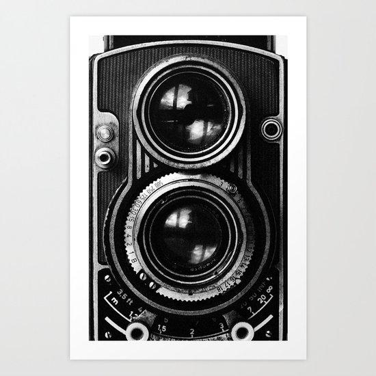 Boss Camera Art Print