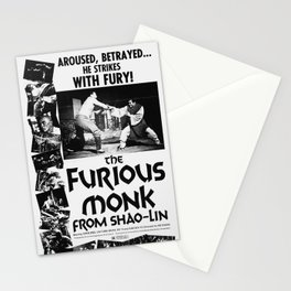 Vintage Film Poster - The Furious Monk Stationery Cards