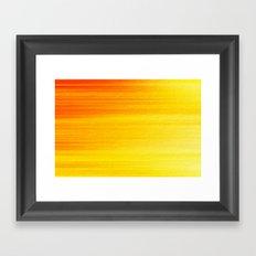 SUMMER SONNET Framed Art Print