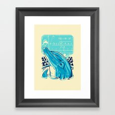 Aquatic problem Framed Art Print