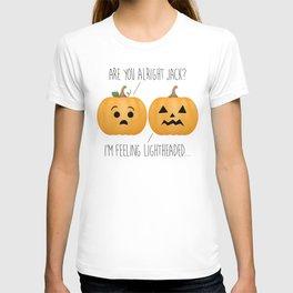 Lightheaded Jack-O-Lantern T-shirt