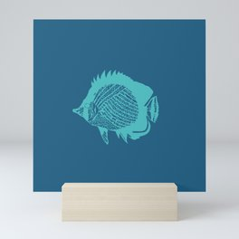 Swim Little Fish Mini Art Print