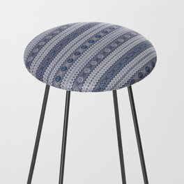 Granny's Fairisle Counter Stool