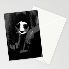 Masked Man Stationery Cards