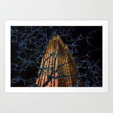 Christmas at Rockefeller Center Art Print