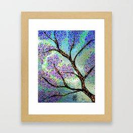 Lavender Branch Framed Art Print