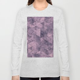 Abstract Geometric Background #28 Long Sleeve T-shirt