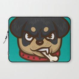 Rottie Pupper Laptop Sleeve