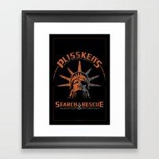 Snake Plissken's Search & Rescue Pty. Ltd. Framed Art Print