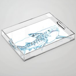 Tiger Shark II Acrylic Tray