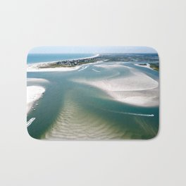 Rich's Inlet at the North End of Figure 8 Island | Wilmington NC Bath Mat