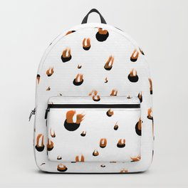 Fire art print Backpack