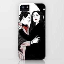 Gomez and Morticia iPhone Case