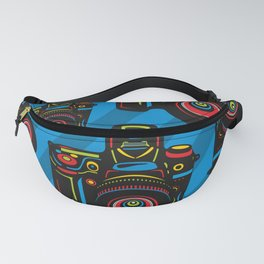 Black Camera Fanny Pack