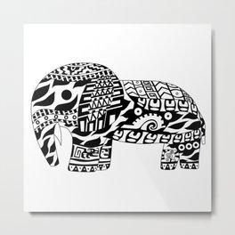 Mr elephant ecopop Metal Print
