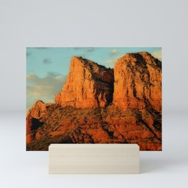 RED ROCKS - SEDONA ARIZONA Mini Art Print